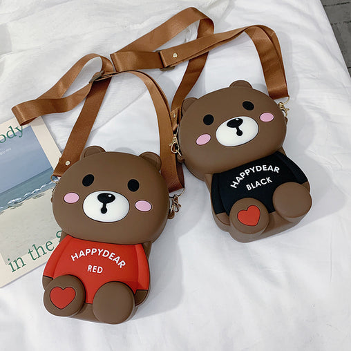 Messenger Shoulder Small Bags in Cartoon Style