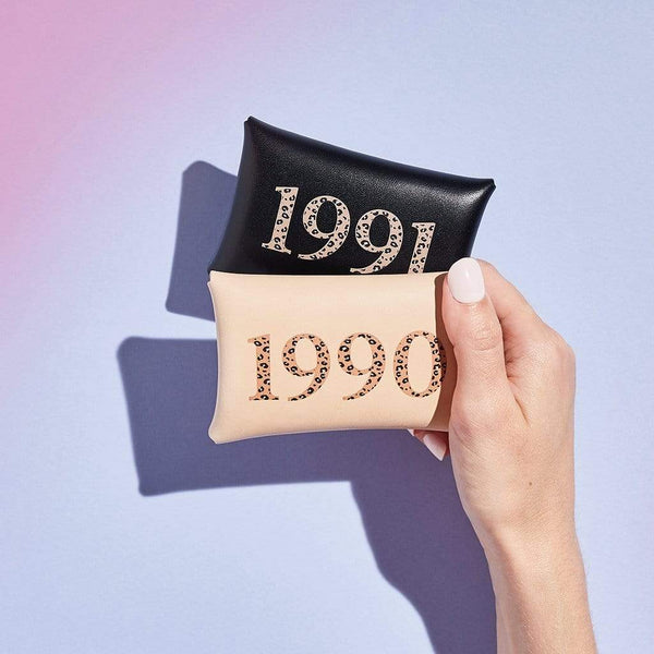 Personalised Year Date Leather Coin Purse - Anna - Sbri