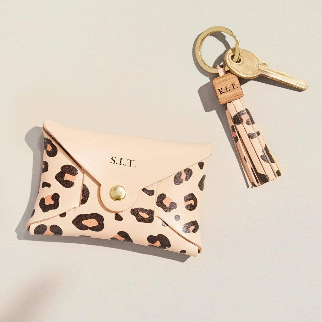 """Emily"" Coin Purse & Tassel Keyring Set"