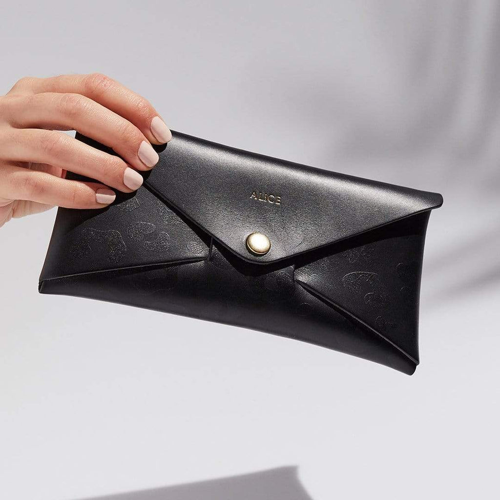 """Emily"" Envelope Purse in Black"