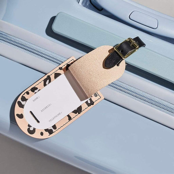"""Emily"" Luggage Tag in Pink"