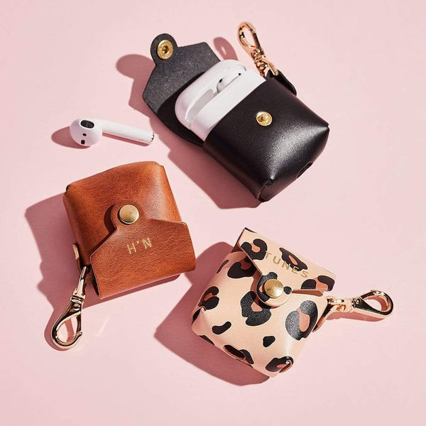 Personalised Leather Airpod Pouch | Sbri