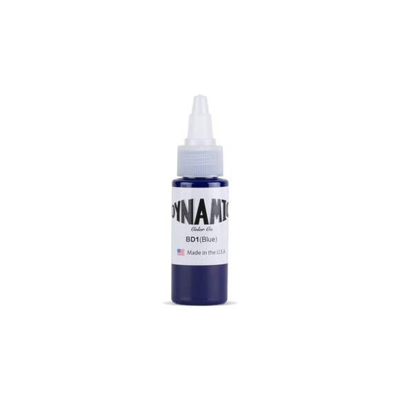Dynamic Blue Tattoo Ink - 1 oz. Bottle