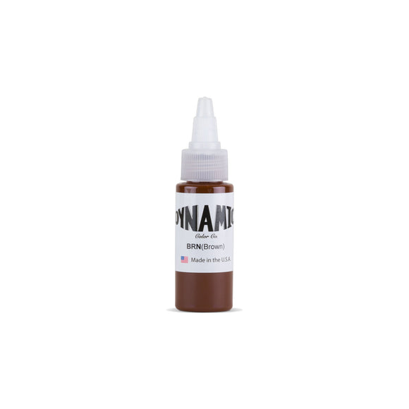 Dynamic Brown Tattoo Ink - 1 oz. Bottle
