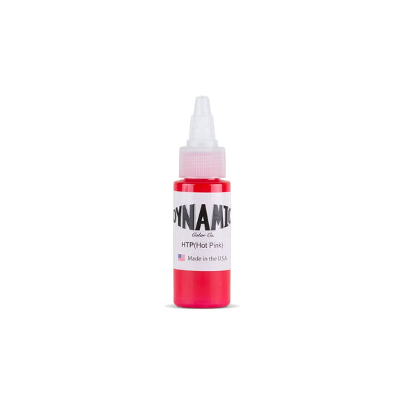 Dynamic Hot Pink Tattoo Ink - 1 oz. Bottle