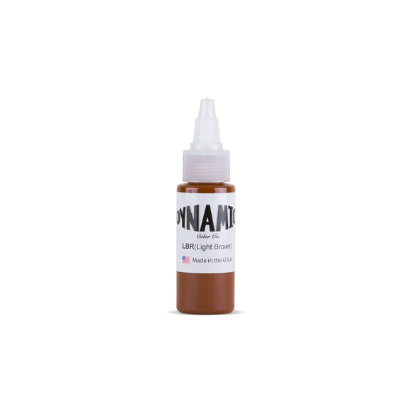 Dynamic Light Brown Tattoo Ink - 1 oz. Bottle