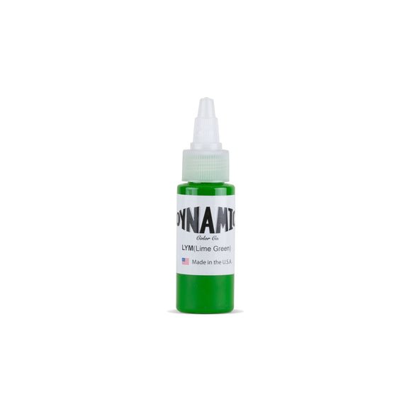 Dynamic Lime Green Tattoo Ink - 1 oz. Bottle