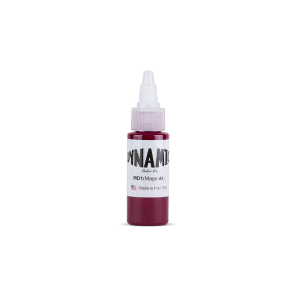 Dynamic Magenta Tattoo Ink - 1 oz. Bottle