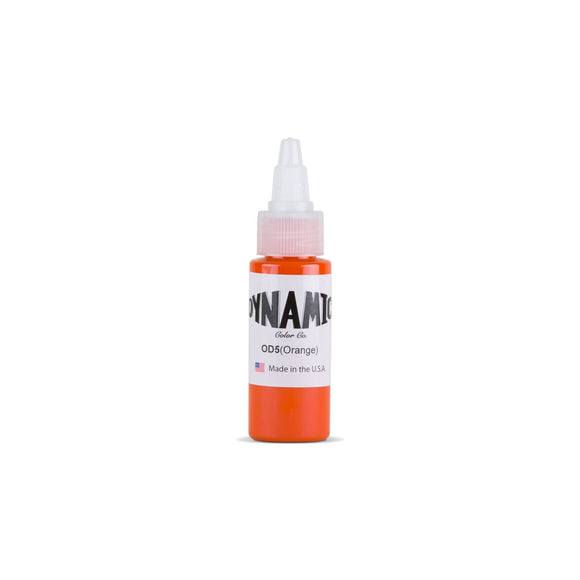 Dynamic Orange Tattoo Ink - 1 oz. Bottle