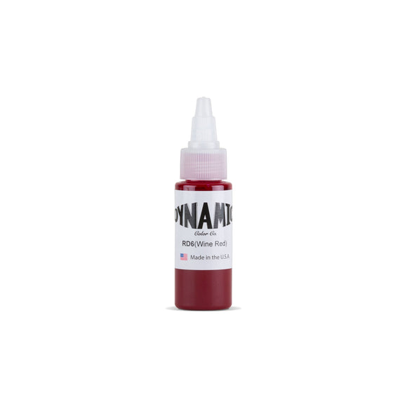Dynamic Wine Red Tattoo Ink - 1 oz. Bottle