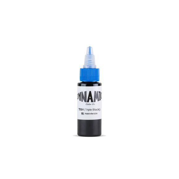 Dynamic Triple Black Tattoo Ink - 1 oz. Bottle