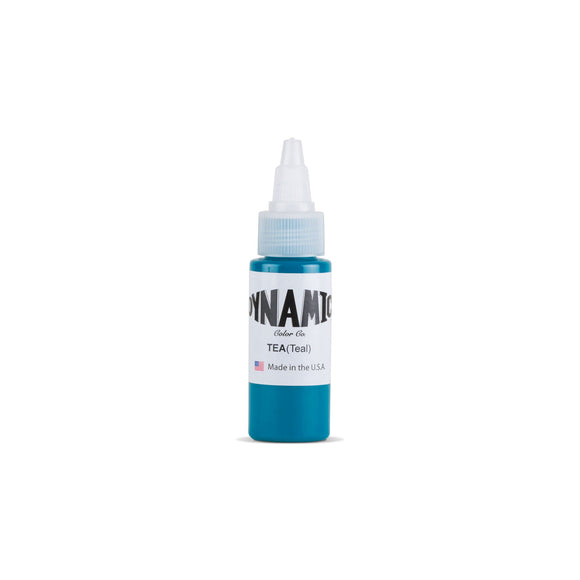 Dynamic Teal Tattoo Ink - 1 oz. Bottle
