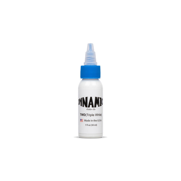 Dynamic Triple White Tattoo Ink - 1 oz. Bottle