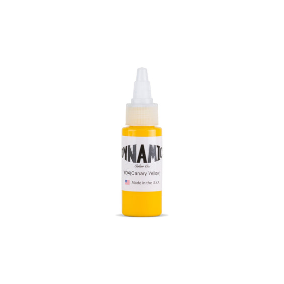 Dynamic Canary Yellow Tattoo Ink - 1 oz. Bottle