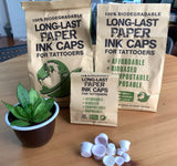Biodegradable Long Last Tattoo Ink Cap (200pc/ Bag)