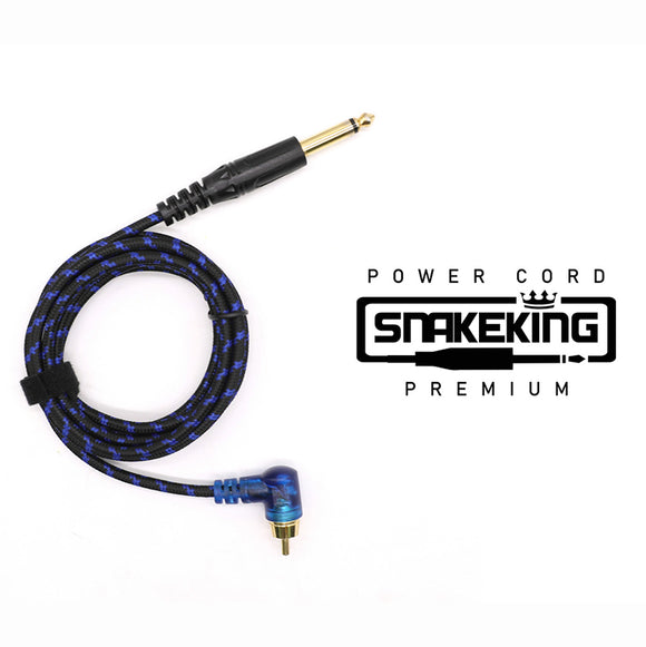 SNAKEKING LED RCA Clip Cord Blue 接駁線
