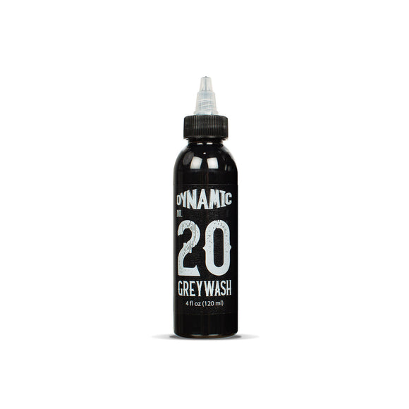 Dynamic Greywash #20 Tattoo Ink - 4 oz. Bottle
