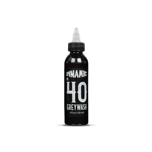 Dynamic Greywash #40 Tattoo Ink - 4 oz. Bottle