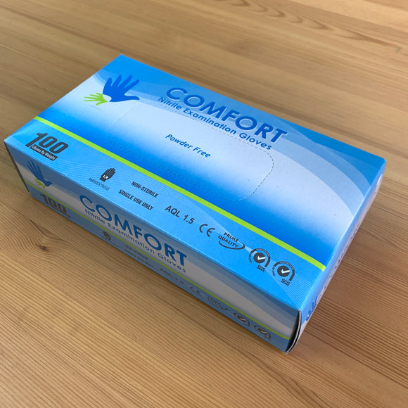 Comfort Nitrile Examination Gloves 即棄手套