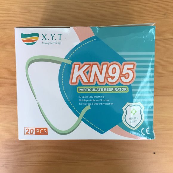 X.Y.T. KN 95 Adult Mask 成人口罩 (20pc/ box)