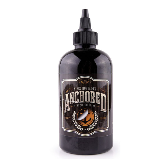 Anchored Stencil Solution by Nikko 紋身轉印膏 - 8 oz. bottle