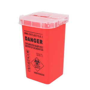 Tattoo Needle Disposal Container