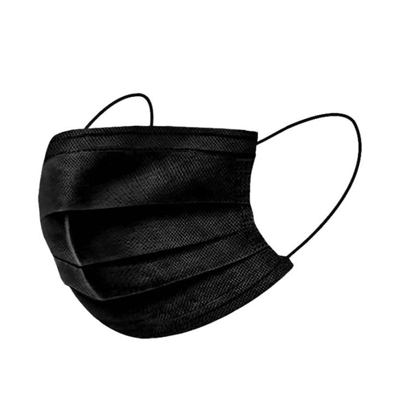 Surgical Black Mask 成人黑色口罩 (50pc/ box)