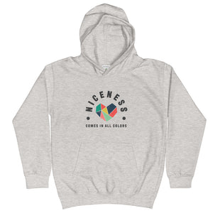 Niceness Comes in All Colors - Kid's Hoodie