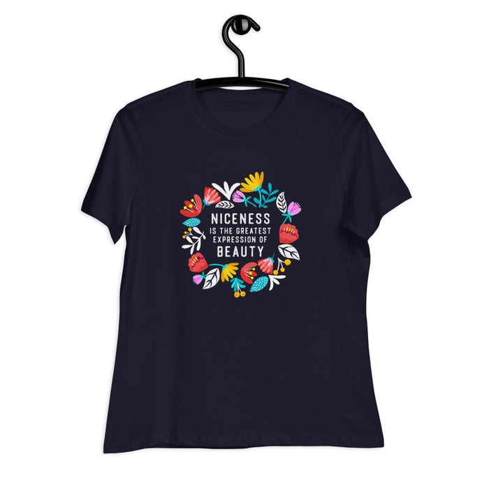 Niceness is the Greatest - Women's Relaxed Tee