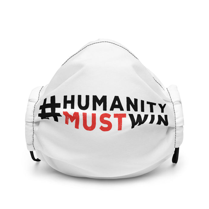 #HumanityMustWin - Adult's Face Mask