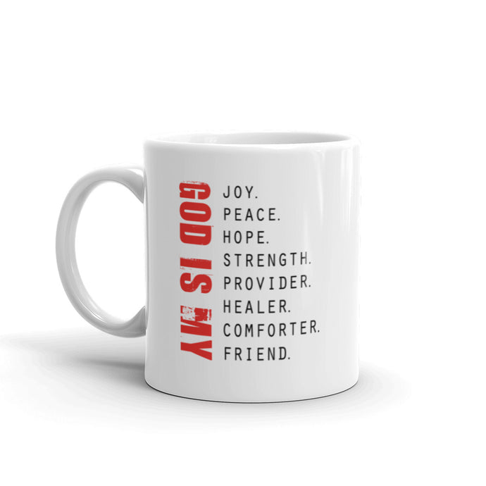 God is My - Ceramic Mug