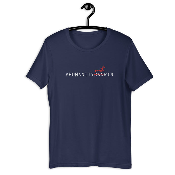 #HumanityMustWin - Men's Short-Sleeve Tee