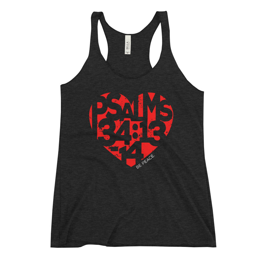 Be Peace. - Women's Racerback Tank