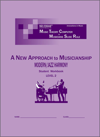 Jazz Harmony Student Workbook - Level 2