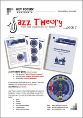 Jazz Theory - Student Pack 1