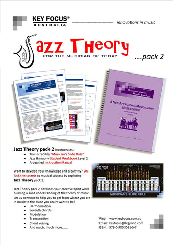 Jazz Theory - Student Pack 2