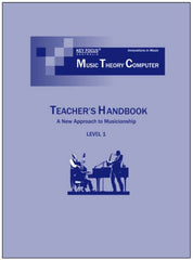Jazz Harmony (MTC) Teacher's Handbook - Level 1
