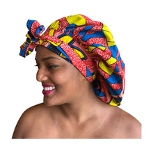 Load image into Gallery viewer, Ashanti, satin-lined bonnet