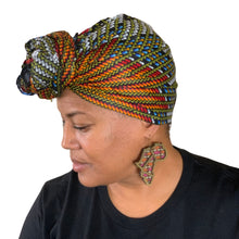 "Load image into Gallery viewer, Efiya headwrap 70"" x 22.5"""