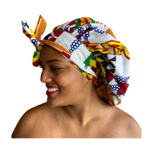 Load image into Gallery viewer, Kumasi, satin-lined bonnet