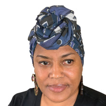 "Load image into Gallery viewer, Kunguru headwrap 70"" x 22.5"""