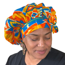 Load image into Gallery viewer, Sunyani, satin-lined bonnet