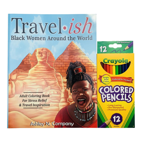 Travel·ish: Black Women Around the World + Coloring Pencils