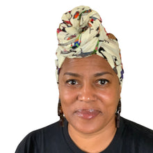 "Load image into Gallery viewer, Yaa headwrap 70"" x 22.5"""