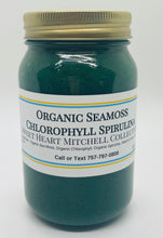 Load image into Gallery viewer, Organic Sea Moss Chlorophyll Spirulina Gel
