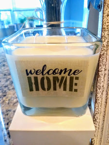 Customized Military Soy Candles