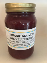 Load image into Gallery viewer, Organic Sea Moss Wild Blueberry Gel