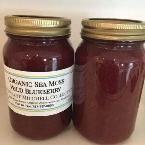 Organic Sea Moss Wild Blueberry Gel
