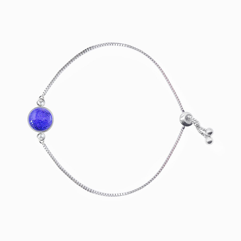 Microcosmoses BRACELET STEEL BRACELET STARRY BLUE ~ INDIGO | ST. STEEL | PERFECT FIT | REFLET