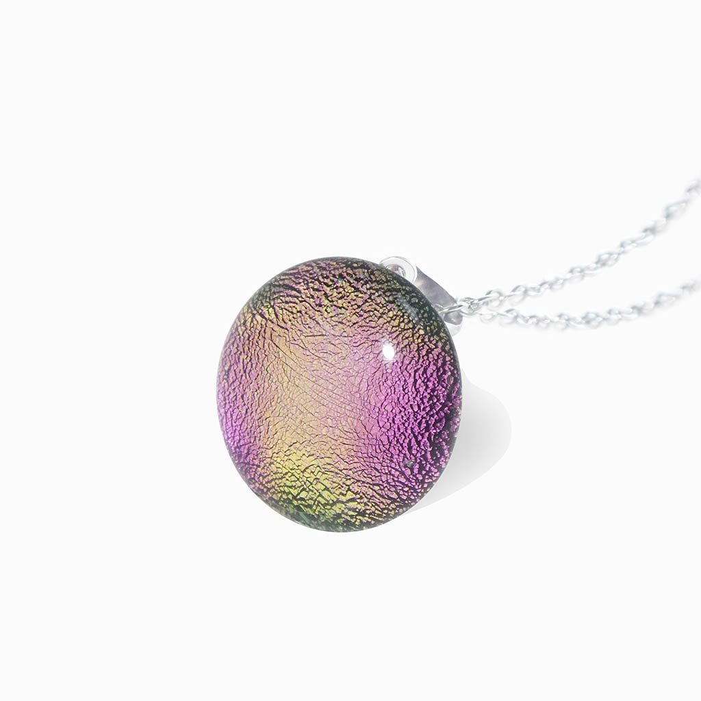 Microcosmoses NECKLACE NECKLACE FRENCH PINK ~ GOLD | ECLIPSE | REFLET